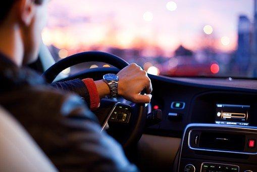 řízení vozidla
