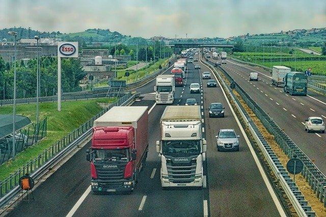 provoz na dálnici